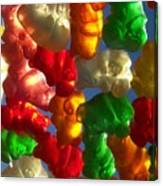 Gummybears 2 Canvas Print