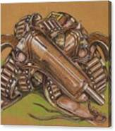Gunfighter S Legacy Canvas Print