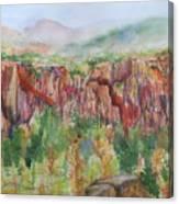 Gunnison Ridge Colorado Canvas Print