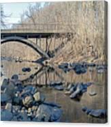 Gunpowder Falls St Pk Bridge - Pano Canvas Print