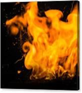 Gunpowder Flames Canvas Print