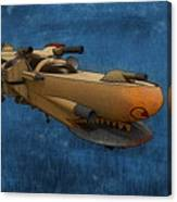 Gunship Canvas Print