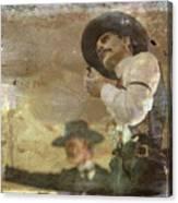 Gunslinger II Doc Holliday Canvas Print