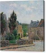 Gustave Loiseau 1865 - 1935 Rue A St. Lunaire Canvas Print