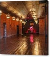 Guthrie Dance Hall  Canvas Print