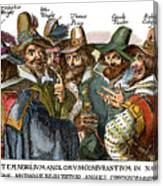 Guy Fawkes, 1570-1606 Canvas Print