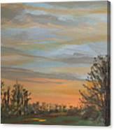 Gwinnetian Sunset Canvas Print