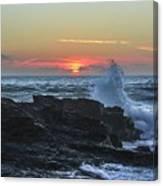 Gwithian Beach Sunset  Canvas Print