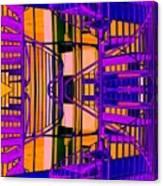 Gym Staircase Canvas Print