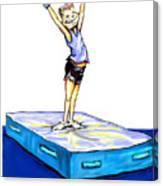 Gymnastic Perfection Canvas Print