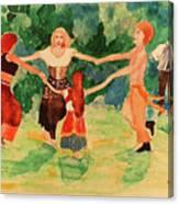 Gypsies Dancing Canvas Print