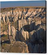 Gypsum Cliffs Canvas Print