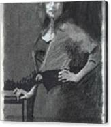 Gypsy A Study Canvas Print