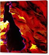 Gypsy Flame Canvas Print