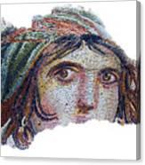 Gypsy Girl Of Zeugma Canvas Print