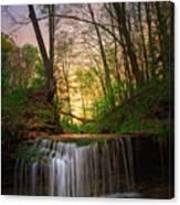 Gypsy Glen  Rd Waterfall  Canvas Print