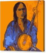 Gypsy Music Canvas Print