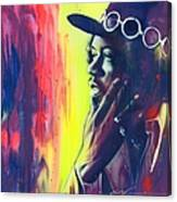 Gyspy Sun And Rainbows Canvas Print