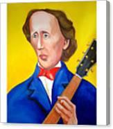 H C Andersen Rocks Canvas Print