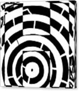 H Maze Canvas Print