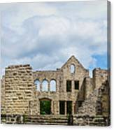 Ha Ha Tonka Castle Panorama Canvas Print