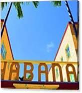 Habana Condos Canvas Print