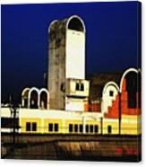 Habibganj Railway Station Canvas Print