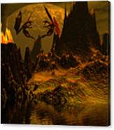 Habitation Of Dragons Canvas Print