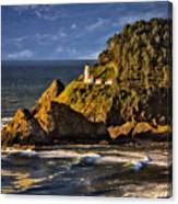 Haceta Head Light 2 Canvas Print