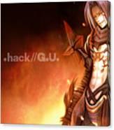 .hack//g.u. Canvas Print