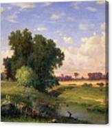 Hackensack Meadows - Sunset Canvas Print