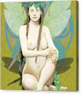 Hada Amarilla Canvas Print