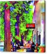 Haddonfield Downtown Canvas Print