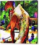 Haddonfield Hadrosaurus Foulkii Canvas Print