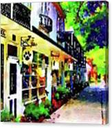 Haddonfield Tanner Street Canvas Print