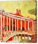 Hadrian's Villa Canvas Print