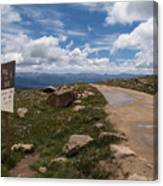 Hagerman Pass View Canvas Print