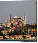 Hagia Sophia - Istanbul Turkey Canvas Print