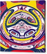 Haida Three Canvas Print
