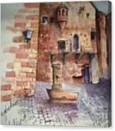 Haidelburg Castle Canvas Print