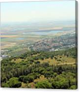 Haifa Natural Park Canvas Print