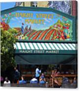 Haight Steet Market San Francisco Canvas Print
