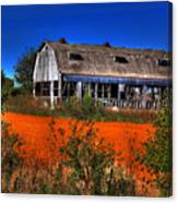 Hainesville Barn Color Canvas Print