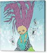 Hair Is A Tree Canvas Print