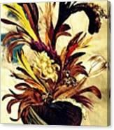 Hairflower Arrangement 2 Canvas Print