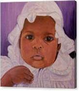 Haitian Baby Orphan Canvas Print