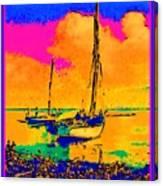 Haitian Fishing Boats Canvas Print