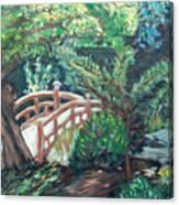 Hakone Garden Canvas Print