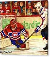 Halak Makes Another Save Canvas Print