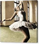 Halcyon Ballerina Canvas Print